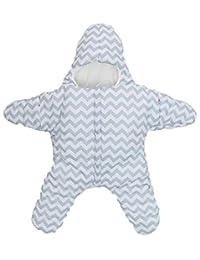 MOUSYA Baby Boys Girls Autumn/Winter Warm Cute Starfish Shape Fleece Lining Sleep Bag