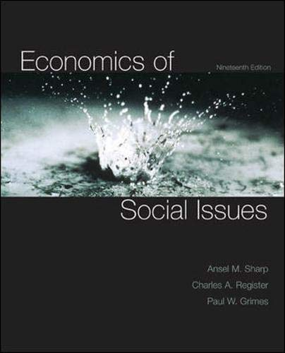 Economics of Social Issues (The Mcgraw-Hill Series...
