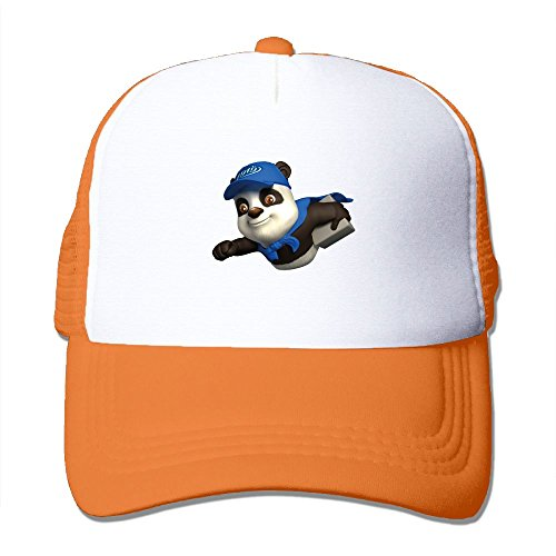 fan products of Antonia Surrey Funny Panda Bear Love Basketball Baseball Cap Adjustable Baseball Operator Cap Classic Unisex Baseball Cap Clean Up Adjustable Hat Orange