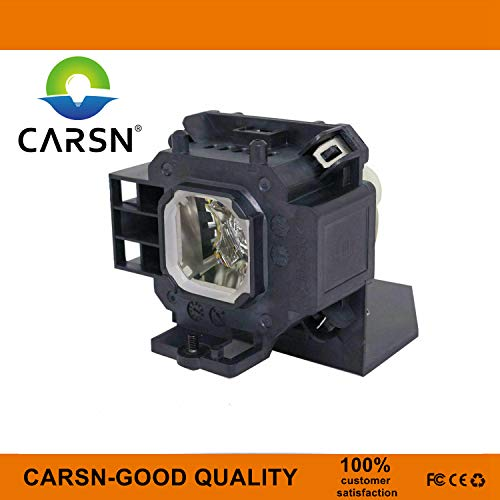 NP07LP Replacement Projector Lamp for NEC NP300 NP400 NP500 NP500W NP600 NP300A NP410W NP510W NP610 NP610SG NP500WS NP510WS NP510WG NP500WSG, Lamp with Housing by CARSN