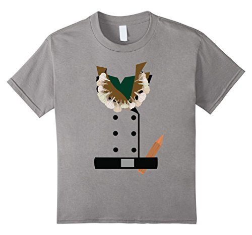 Kids Vampire Hunter Halloween Costume T-Shirt 10 Slate