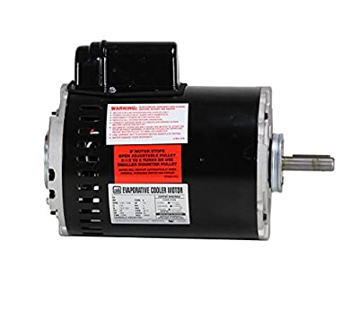 Dial Manufacturing 1 HP 115V 2 Speed Motor for Single Inlet Cooler