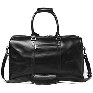 "HIDES 21"" Tourist Leather Weekender Bag 3"