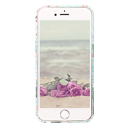 Funda iPhone 7 Plus, Funda iPhone 8 Plus, ZXK CO Fundas Protectiva Carcasa de Plástico Duro Cover Case Para Apple iPhone 7 Plus/8 Plus 5,5 Ultra-Delgado, Anti-Estático, Resistente Huellas Dactilares  Diseño de Cactus verde