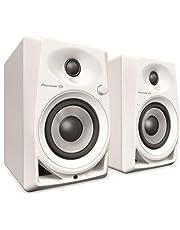 Pioneer DJ DM-40-W vita studiomonitorer
