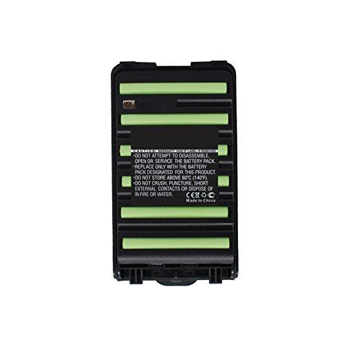 5x Exell 7.2V 1800mAh Ni-MH FRS 2way Radio Battery Fits Icom BP-264, BP264, IC-F3001, IC-F3002, IC-F3003, IC-F3101D, IC-F4001, IC-F4002, IC-F4003, IC-F4101D, IC-T70, IC-T70A, IC-T70E by Exell Battery (Image #2)