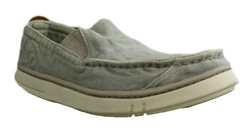 Timberland TBL-2 - Mocasines de lona para hombre, color gris, talla 42: Amazon.es: Zapatos y complementos