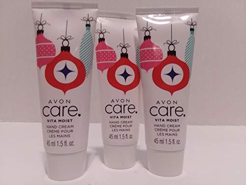 Avon Care Vita Moist Travel Size Hand Cream - Lot of 3