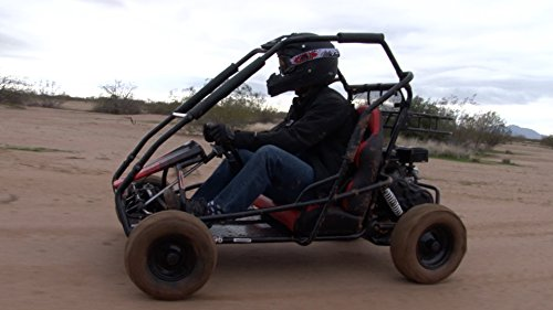 Coleman Powersports 196cc/6 5HP Coleman KT196 Gas Powered Off Road go Kart
