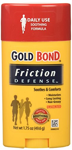 Gold Bond Friction Defense Soothing Formula Unscented- 1.75 Oz (Pack of 6)
