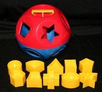 TUPPERWARE Shape O Ball Toy Children, Kids, Game by Avner-Toys