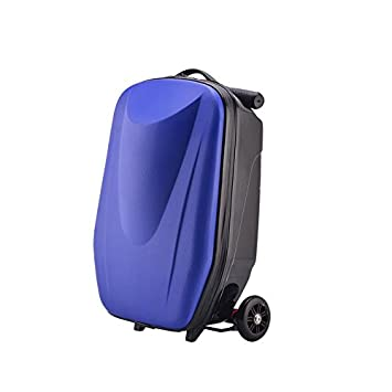 Amazon.com | Scooter Suitcase Trolley Case Travelling Trunk ...