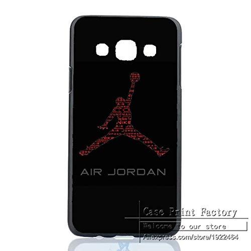 1 piece Air Jordan Michael Basketball NBA Case Cover for Samsung Galaxy A3 A5 A7 A8 J1 J5 J7 Note 2 3 4 5 Sports Brand Jordan Logo Shell