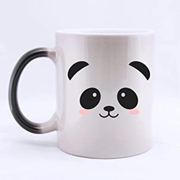 Color Best 11oz Cuteamp; Funny Mug Face Changing Choice Panda Morphing deoCxWrB