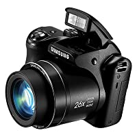 Samsung WB110 20.2 Digital Camera with 26.0x Optical Image Stabilized Zoom with 3.0-Inch TFT LCD Screen by Samsung