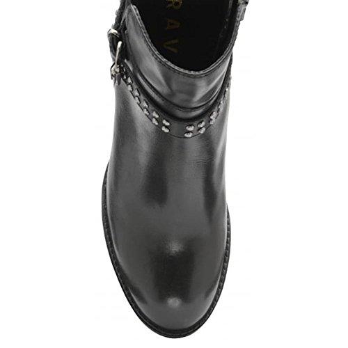 cloutées à talons à noires avec talons hauts noir Bottes whatley hauts cuir Ravel hauts cuir en à bottines en en cuir talons qZz6IngTw