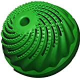 Lily's Home Green Wash Ball Laundry Ball - Lemon Scented, Wash without Detergent