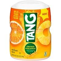 Tang Orange Pineapple Powdered Drink Mix (20 oz Jar, Pack of 12)