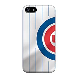 High Impact Dirt/shock Proof Cases Covers For Iphone 5/5s (chicago Cubs)