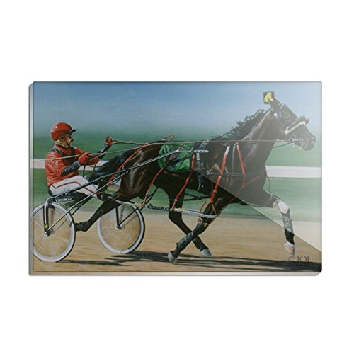 Harness Racing Horse Sulky Trotter Rectangle Acrylic Fridge Refrigerator Magnet -  GRAPHICS & MORE, ACR.MAG.RCT.QQJQLMG00.Z001443_8