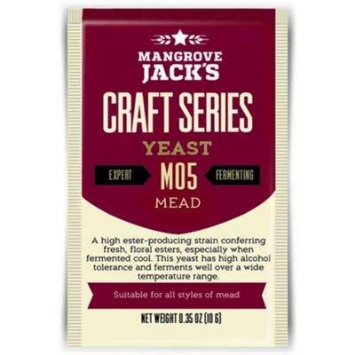 Mangrove Jack M05 Mead Dry Yeast - 3 Pack