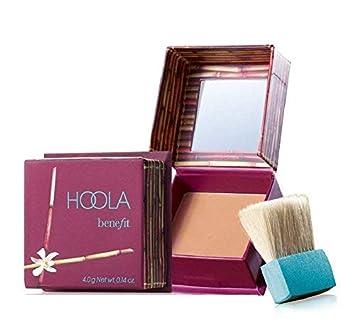 8dc3955536b Amazon.com : Benefit Cosmetics Hoola Matte Bronzer - 0.14 oz / 4 g - travel  size by Benefit Cosmetics : Beauty