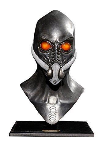 MostaShow Alien/Robot/ Evil Spirits Halloween Costume Cosplay Party Masks Latex Full Head Masks Masquerade Masks -