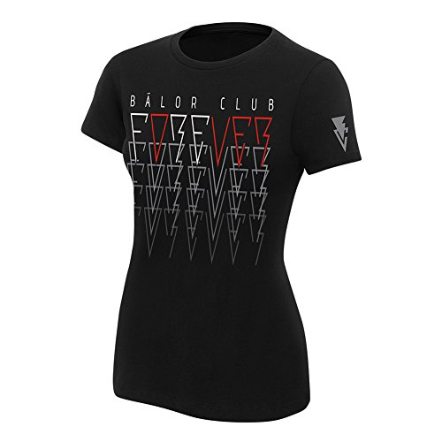 "WWE Finn Bàlor ""Bàlor Club Forever"" Women's T-Shirt Black 2XL by WWE Authentic Wear"