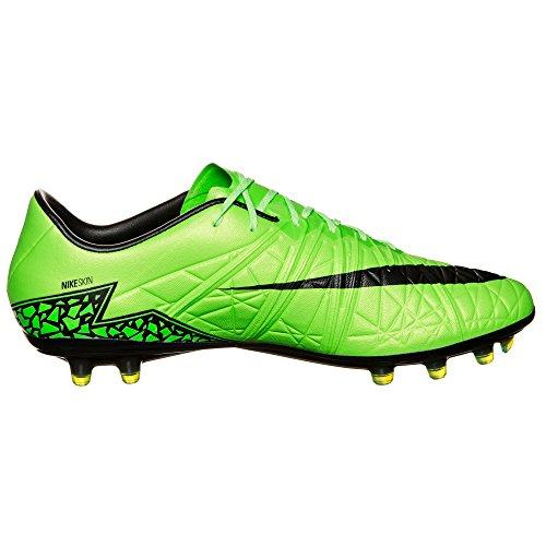Nike Mænd Hypervenom Phinish Fg Fodboldstøvler, Uk Grøn