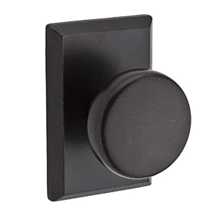 Charmant RSR Rustic Passage Door Knob Set With Rustic Square Rose,