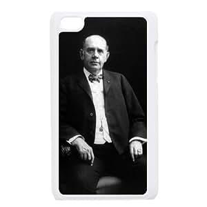 Mark Hanna funda iPod Touch 4 caja funda del teléfono celular blanco cubierta de la caja funda EEECBCAAJ04538