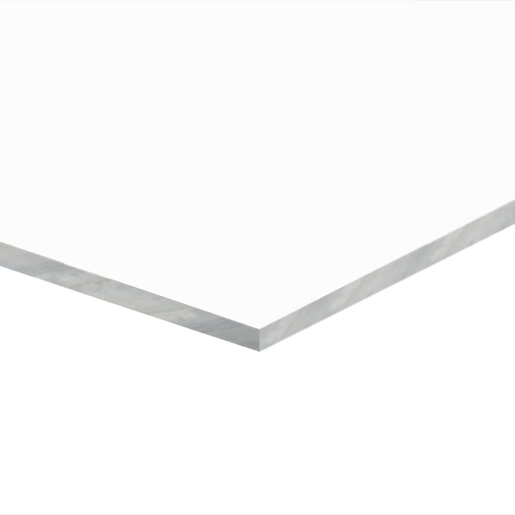 vidaXL 5x Feuille de Verre Acrylique Transparent 40x60 cm 2 mm Plexiglas