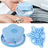 Ugood Home Floating Lint Hair Catcher Mesh Pouch Washing Machine Laundry Filter Bag (A)