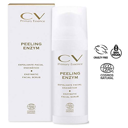 CV Primary Essence Enzimatisches Gesichtspeeling Umweltfreundliches Enzimatisches Peeling, zertifiziert von Ecocert.