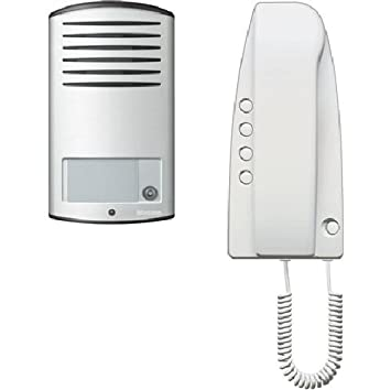 Citofono Bticino Linea 2000.Bticino Bt363811 Kit Audio Monofamiliare Con Posto Esterno Linea 2000 E Citofono Sprint