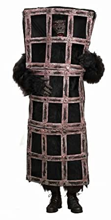 Disfraz de gorila enjaulado - Estándar
