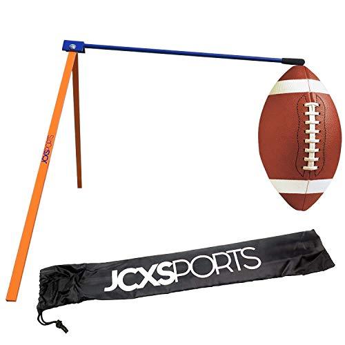 JCXSPORTS Football Kicking Tee - Field Goal Football