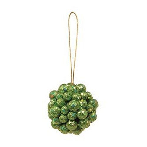 Bolas P/ Pendurar Árvore Natal 8Cm Verde