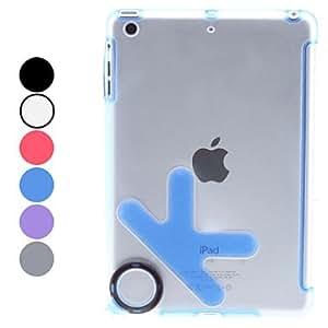Aceptar diseños ultrafinos de TPU caso para mini iPad (colores surtidos) , Gris