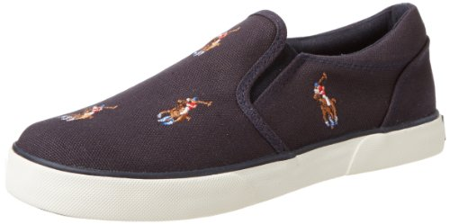 Polo Ralph Lauren Kids Bal Harbour Repeat Multi Pony Slip-On