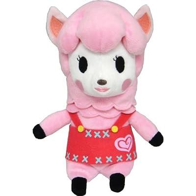 "Sanei Animal Crossing New Leaf: Lisa/Reese 9"" Plush: Toys & Games"