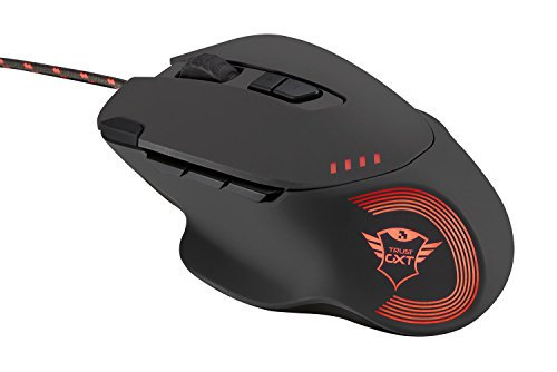 9 Mouse (Trust Gaming GXT 162 Gaming Mouse with 9 Programmable Buttons, RGB LED Illumination and Advanced Software including Macros)