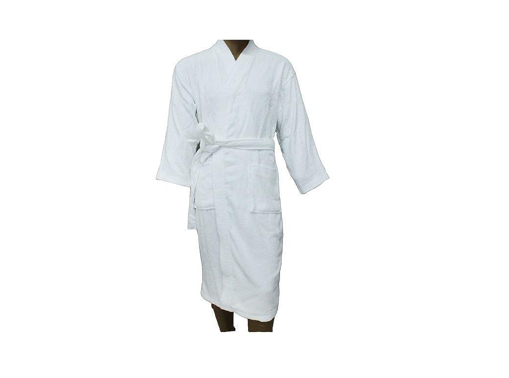 Men women terry bathrobe cotton unisex towelling gown large standard size  guest hotel clothing jpg 1040x773 d8ba22a3f