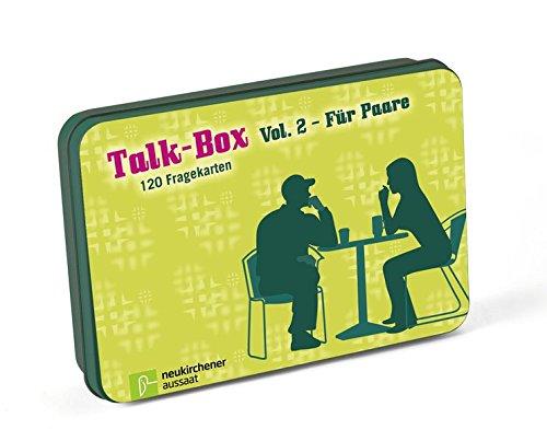 Talk-Box Vol. 2 - Für Paare Karten – 23. Mai 2014 Claudia Filker Hanna Schott Neukirchener Aussaat 3761558090