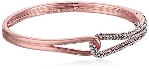 kate spade new york Pave Loop Clear/Rose Gold - Rose Gold Bracelet Kate Spade