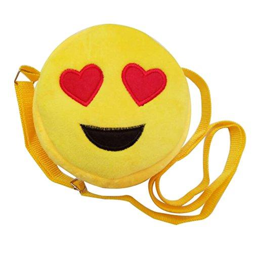 - Cute Emoji Kids' Backpacks Emoticon Rucksack School Bag