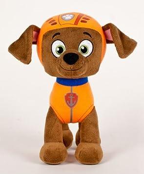 Patrulla canina (PAW PATROL) - Peluche personaje Zuma, raza Labrador y socorrista (