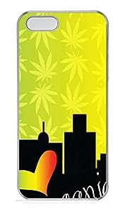 iPhone 5s Case, iPhone 5s Cases - Ganja City Custom Design iPhone 5s Case Cover - Polycarbonate¨CTransparent