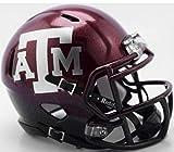 Riddell Texas A&M Aggies 2018 Two Tone NCAA Revolution SPEED Mini Helmet