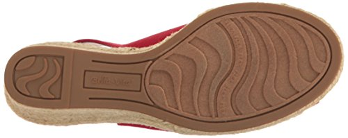 Bella Vita Women's Seraphina II Espadrille Wedge Sandal Red Silk cheap Inexpensive low shipping online original cheap online official site cheap price discount pay with paypal 6Xz4HI8Ap